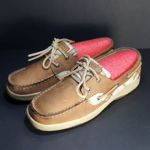 Sperry Top Siders, size 5.5, very nice shoes.